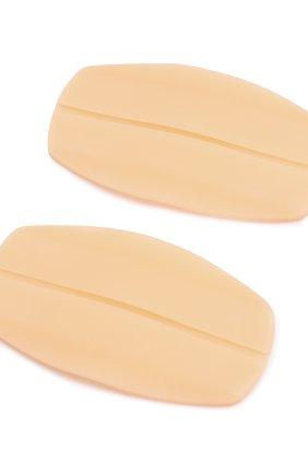 Женские подкладки под бретели MISS PERFECT бежевого цвета, арт. MPA40006   Фото 3 (Рукава: Короткие)