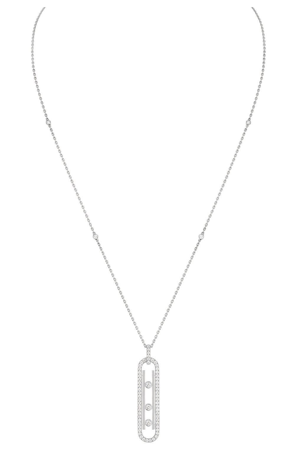 Женские колье MESSIKA белого золота цвета, арт. 10032-WG | Фото 1