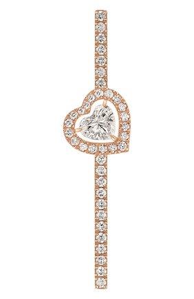Женские серьга MESSIKA розового золота цвета, арт. 11433-PG | Фото 1