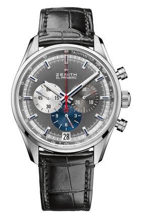 Мужские часы 36000 vph chronograph anthracite ZENITH темно-серого цвета, арт. 03.2040.400/26.C | Фото 1