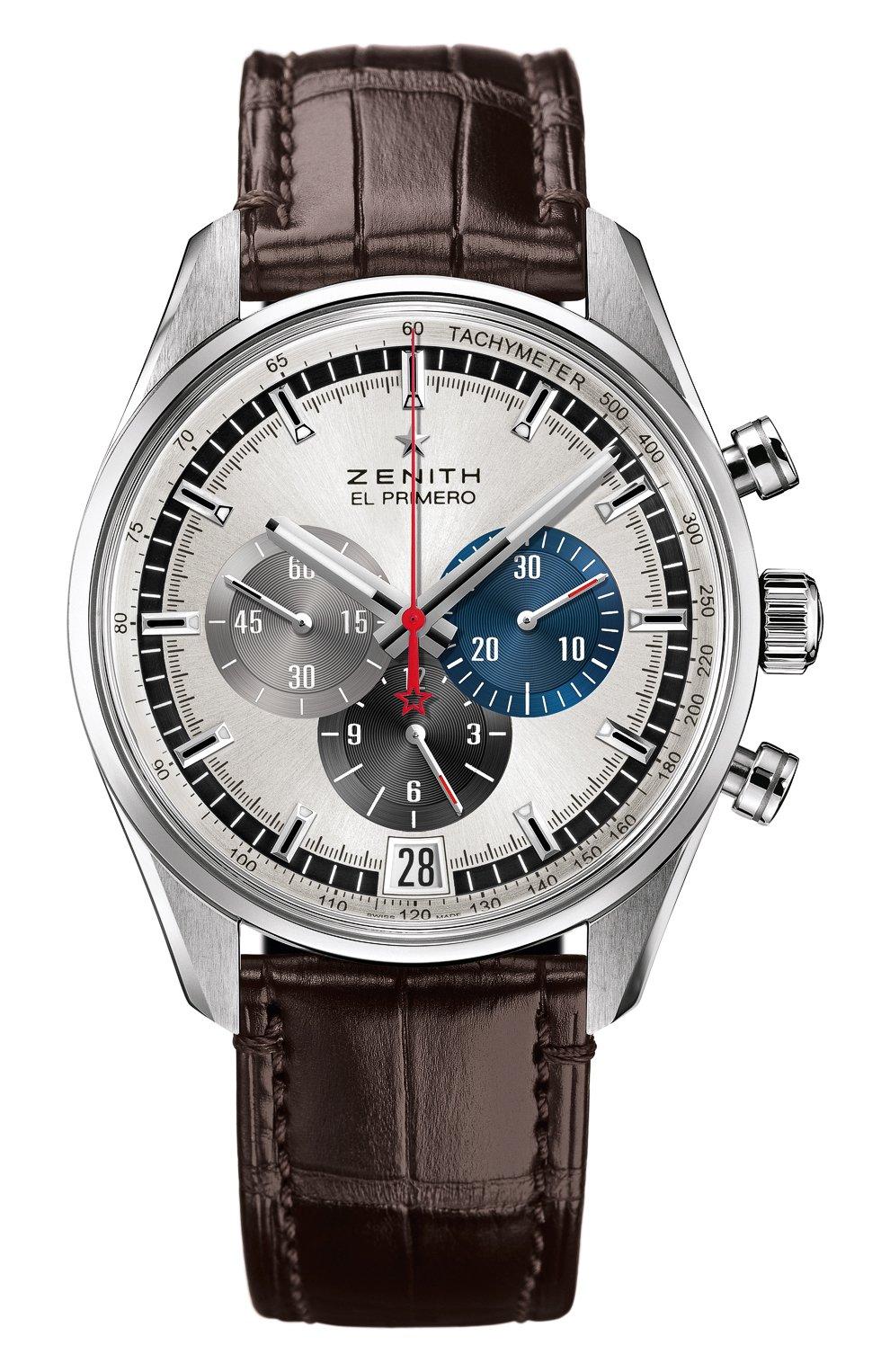 Мужские часы 36000 vph chronograph silver ZENITH серебряного цвета, арт. 03.2040.400/69.C | Фото 1