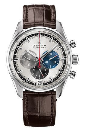 Мужские часы 36000 vph chronograph silver ZENITH серебряного цвета, арт. 03.2040.400/69.C494 | Фото 1