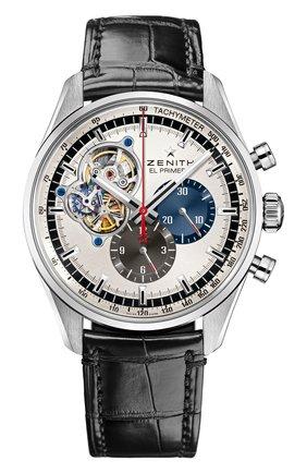 Мужские часы chronomaster 1969 silver ZENITH серебряного цвета, арт. 03.2040.4061/69.C | Фото 1