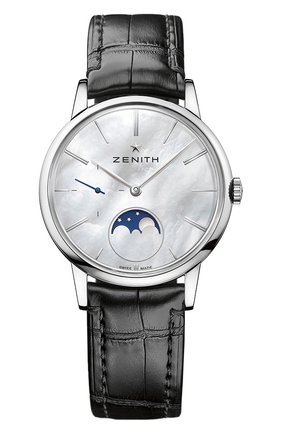 Женские часы ultra thin lady moonphase ZENITH перламутрового цвета, арт. 03.2320.692/80.C | Фото 1