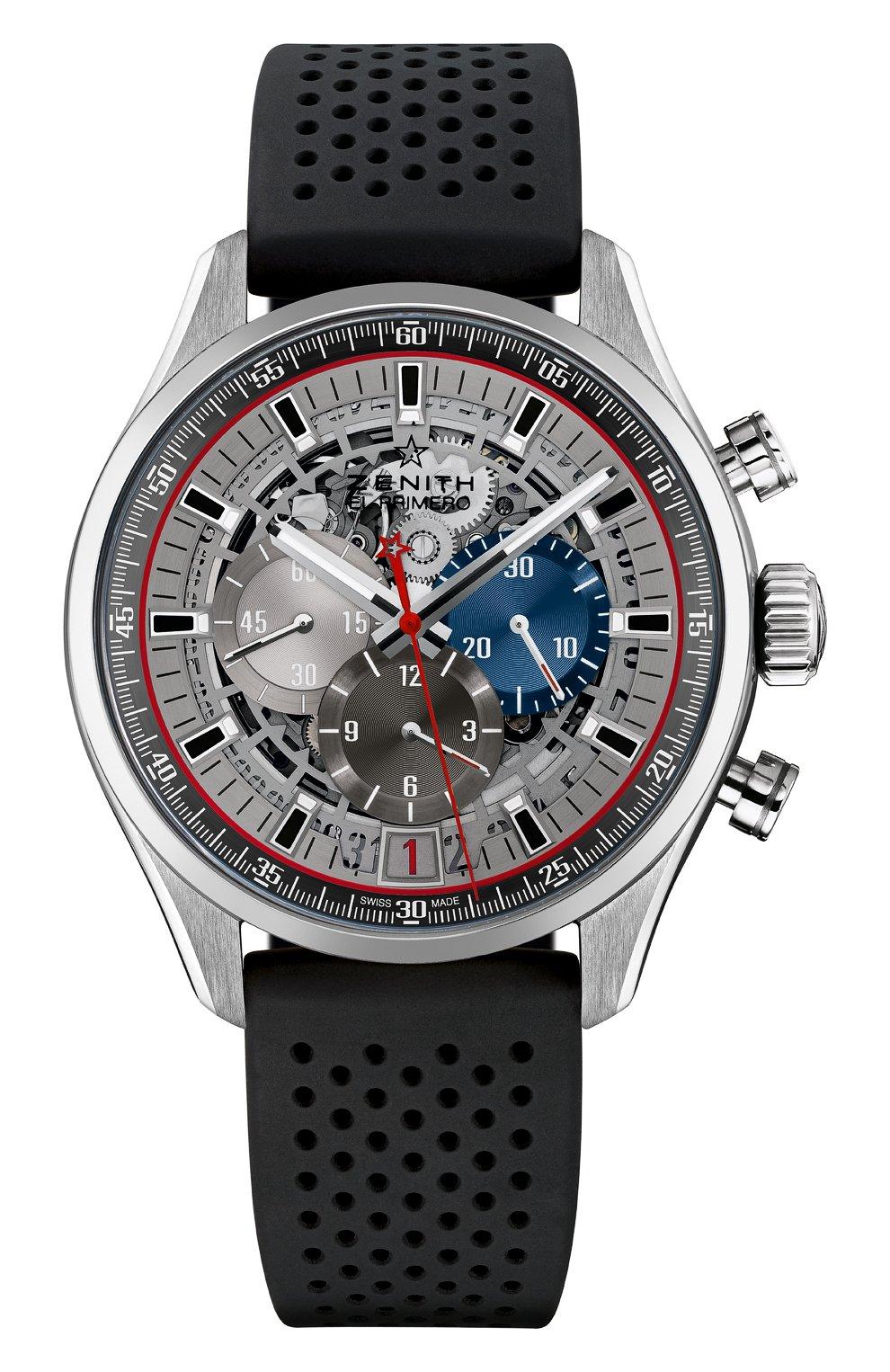 Мужские часы 36000 vph chronograph open ZENITH серого цвета, арт. 03.2522.400/69.R | Фото 1