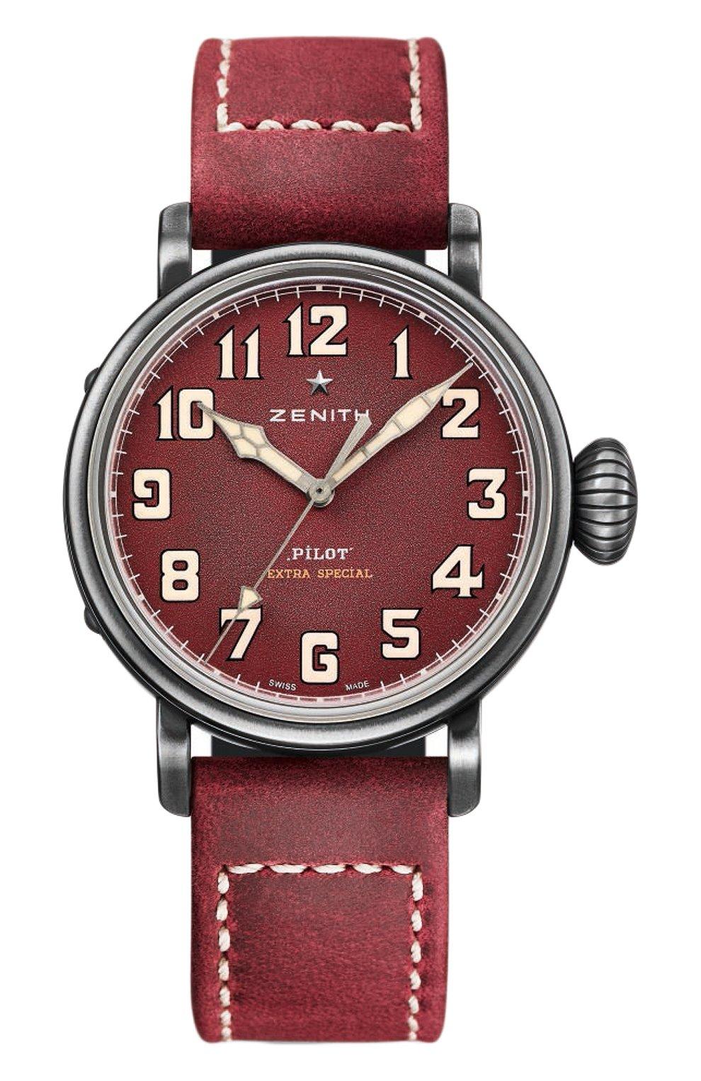 Мужские часы type 20 extra special burgundy ZENITH красного цвета, арт. 11.1940.679/94.C   Фото 1