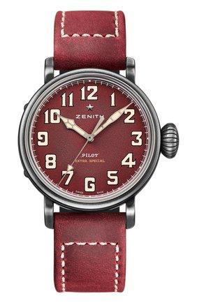 Мужские часы type 20 extra special burgundy ZENITH красного цвета, арт. 11.1940.679/94.C | Фото 1