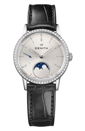 Женские часы lady moonphase steel ZENITH серебряного цвета, арт. 16.2330.692/01.C | Фото 1