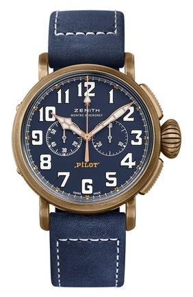 Часы Pilot Type 20 Chronograph Extra Special Bronze Blue | Фото №1