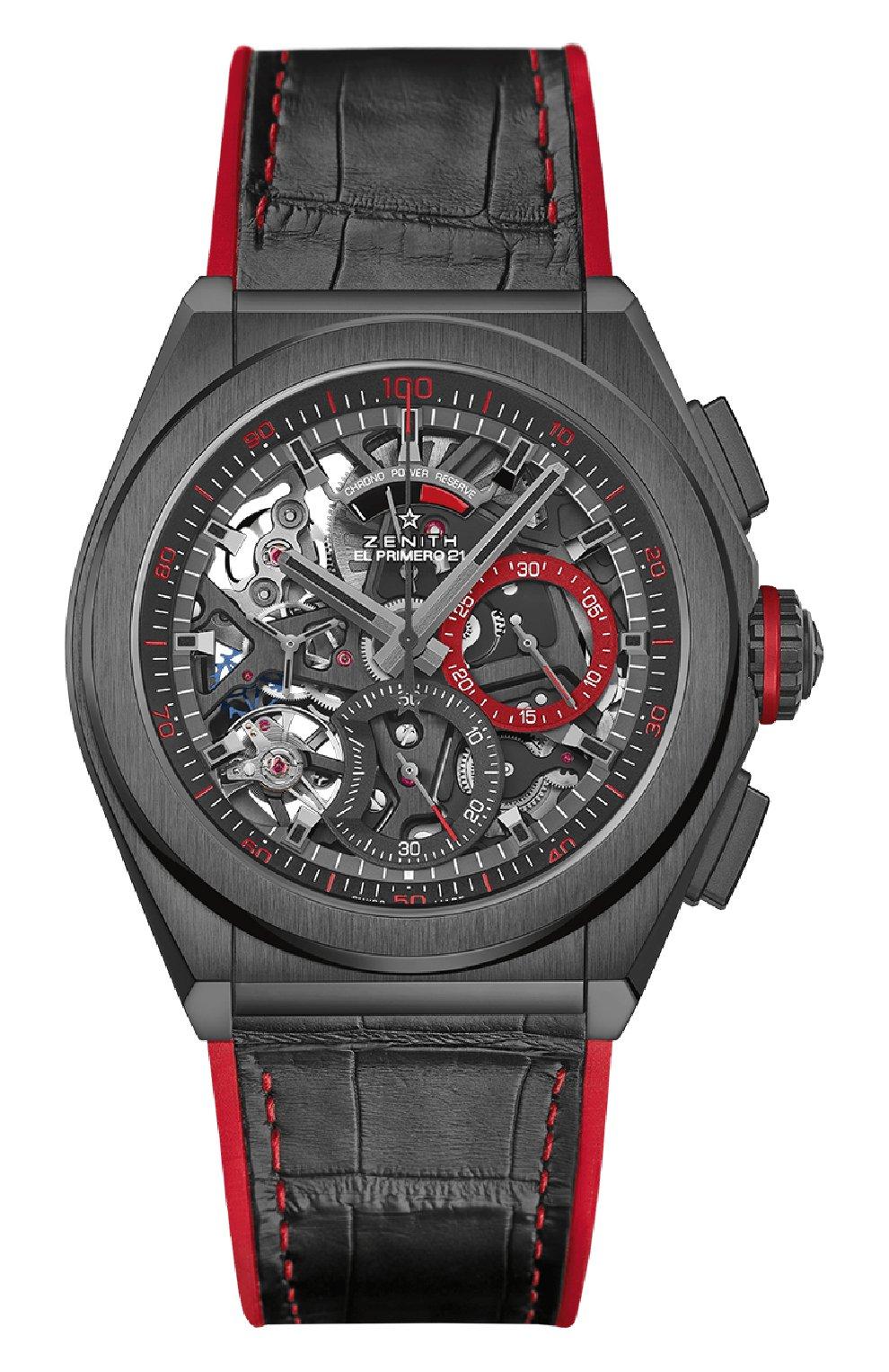 Мужские часы defy for russia special edition el primero 21 ZENITH черного цвета, арт. 49.9002.9004/68.R   Фото 1