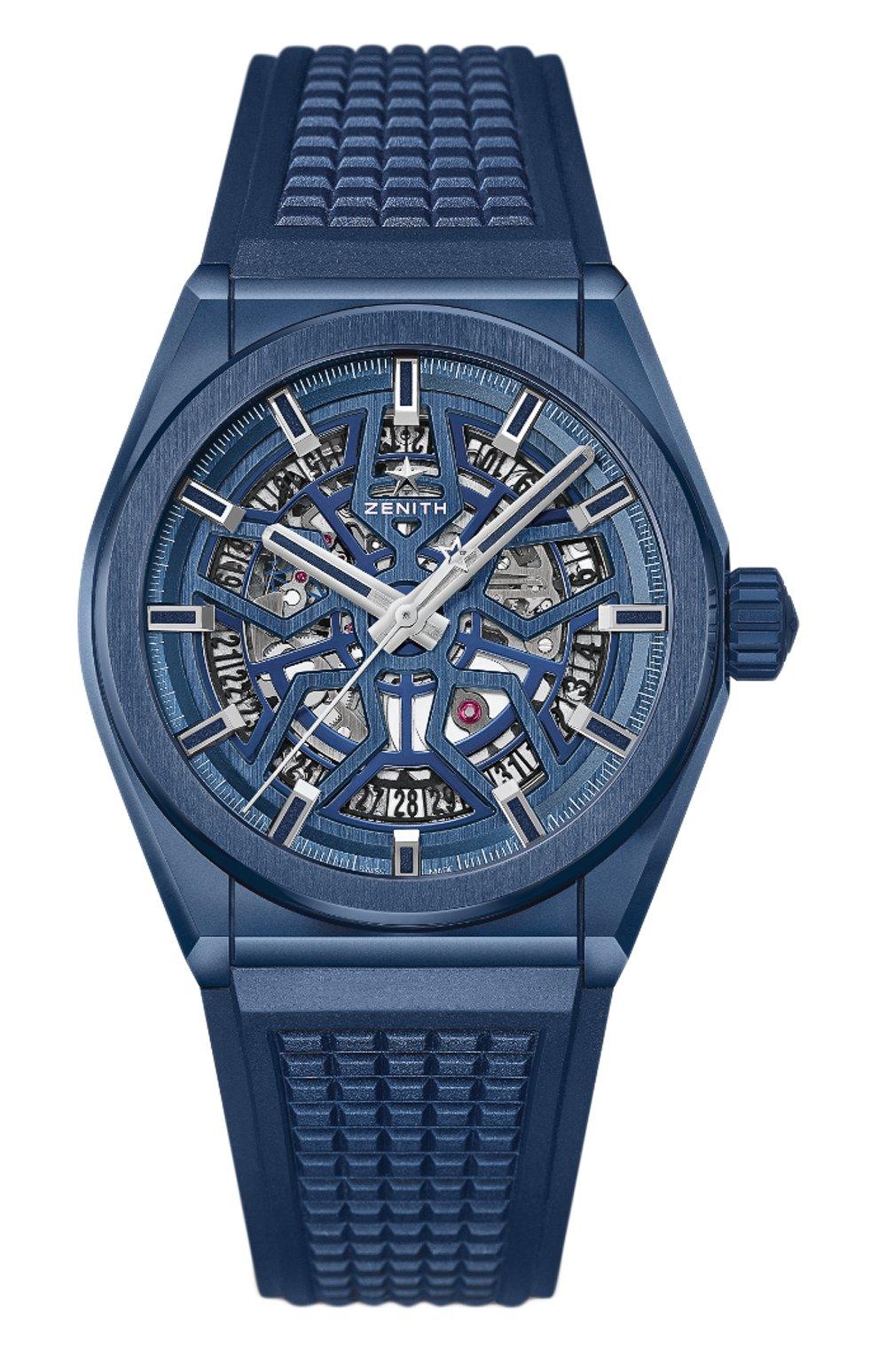 Мужские часы defy classic blue ceramic ZENITH синего цвета, арт. 49.9003.670/51.R   Фото 1