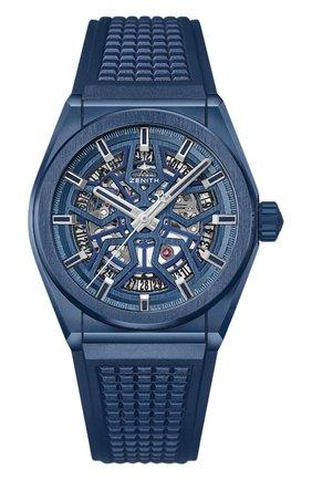 Часы Defy Classic Blue Ceramic | Фото №1