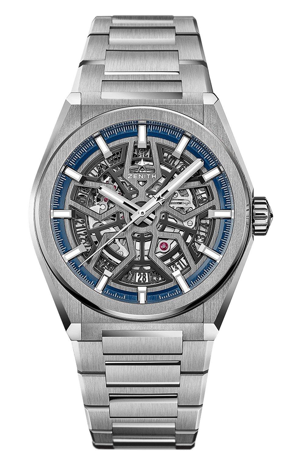 Мужские часы classic ZENITH серого цвета, арт. 95.9000.670/78.M   Фото 1