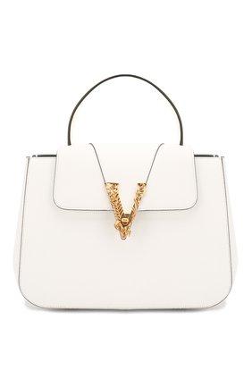 Женская сумка virtus VERSACE белого цвета, арт. DBFH006/D5VIT | Фото 1