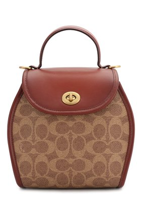 Женская сумка COACH коричневого цвета, арт. 142 | Фото 1
