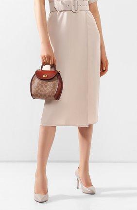 Женская сумка COACH коричневого цвета, арт. 142 | Фото 2