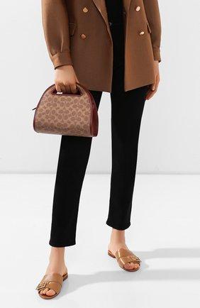 Женская сумка COACH коричневого цвета, арт. 146 | Фото 2
