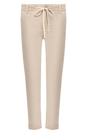 Женские брюки с отворотами PAIGE бежевого цвета, арт. 5659G42-8093 | Фото 1