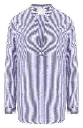 Женская шелковая рубашка TWINS FLORENCE голубого цвета, арт. TWFPE20CAM0003 | Фото 1