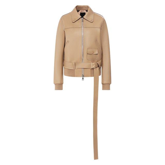 Кожаная куртка N21