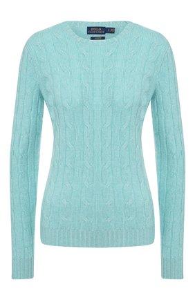 Женская кашемировый пуловер POLO RALPH LAUREN зеленого цвета, арт. 211780379 | Фото 1
