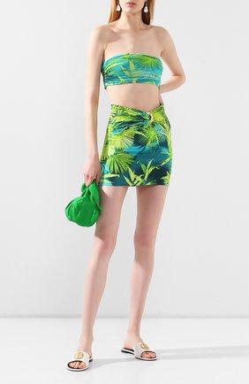 Женская топ-бандо VERSACE зеленого цвета, арт. A86340/A234698 | Фото 2