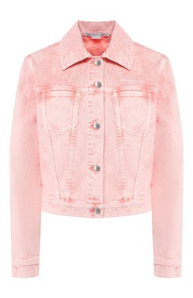 Женская джинсовая куртка STELLA MCCARTNEY розового цвета, арт. 600260/SNH80 | Фото 1