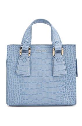 Женская сумка GIORGIO ARMANI голубого цвета, арт. Y1D148/YTE6A | Фото 1