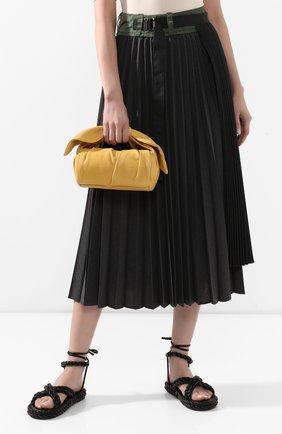 Женская сумка nane REJINA PYO желтого цвета, арт. B24/LEATHER   Фото 2
