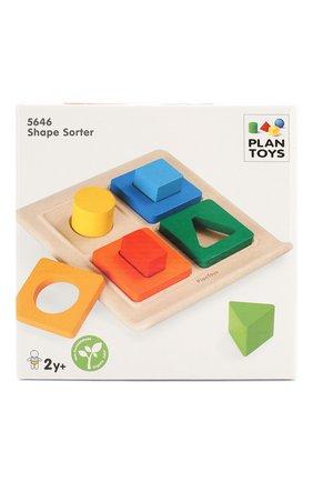 Детского игрушка сортер формы PLAN TOYS разноцветного цвета, арт. 5646 | Фото 1