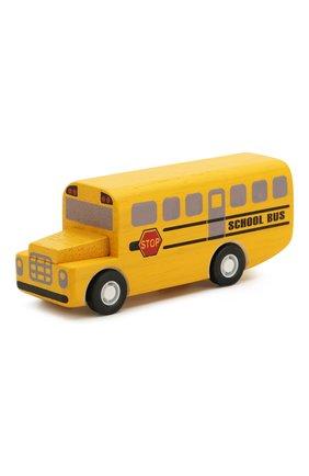 Детского игрушка школьный автобус PLAN TOYS разноцветного цвета, арт. 6049 | Фото 1