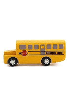 Детского игрушка школьный автобус PLAN TOYS разноцветного цвета, арт. 6049 | Фото 2
