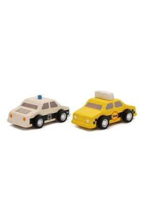 Детского набор игрушечных машин PLAN TOYS разноцветного цвета, арт. 6073 | Фото 1