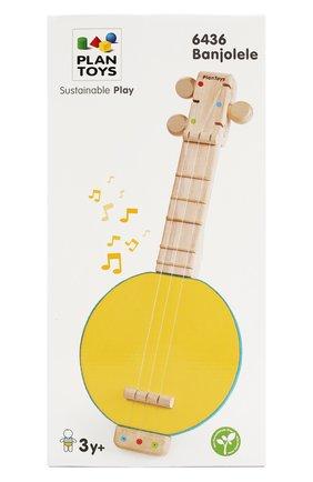 Детского игрушка банджо PLAN TOYS разноцветного цвета, арт. 6436 | Фото 2