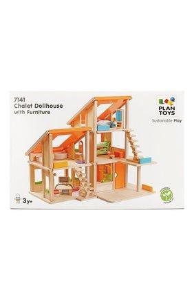 Детского игрушка кукольный домик шале PLAN TOYS разноцветного цвета, арт. 7141 | Фото 2