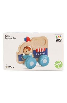 Детского игрушка спасательная машина PLAN TOYS разноцветного цвета, арт. 5686 | Фото 1