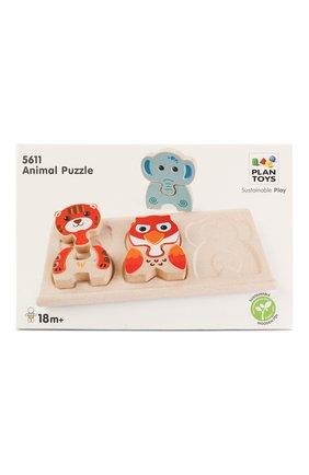 Детского игрушка деревянный пазл PLAN TOYS разноцветного цвета, арт. 5611 | Фото 1