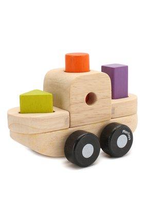 Детского игрушка сортер корабль PLAN TOYS разноцветного цвета, арт. 5432 | Фото 2