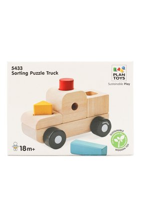 Детского игрушка сортер грузовик PLAN TOYS разноцветного цвета, арт. 5433 | Фото 1