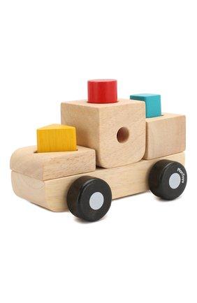 Детского игрушка сортер грузовик PLAN TOYS разноцветного цвета, арт. 5433 | Фото 2