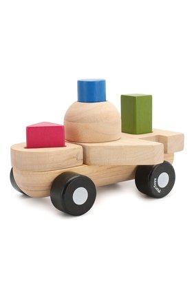 Детского игрушка сортер самолёт PLAN TOYS разноцветного цвета, арт. 5431 | Фото 2