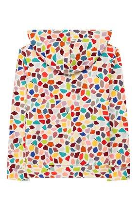 Детский хлопковый кардиган MISSONI разноцветного цвета, арт. MBN00001/BW007G/4-6 | Фото 2