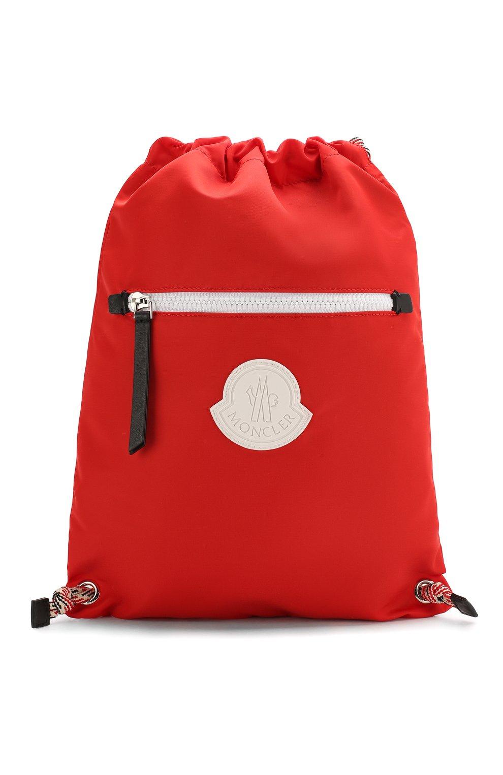 Детская рюкзак MONCLER красного цвета, арт. F1-954-5A700-10-02SA9   Фото 1