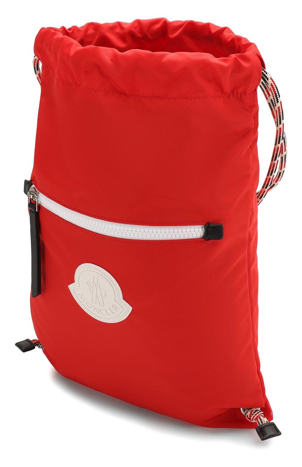 Детская рюкзак MONCLER красного цвета, арт. F1-954-5A700-10-02SA9   Фото 3