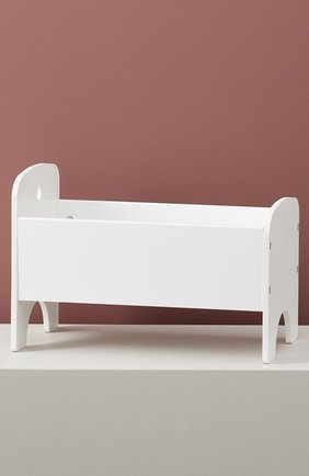 Детского игрушечная кровать для кукол KID`S CONCEPT белого цвета, арт. 1000433 | Фото 2
