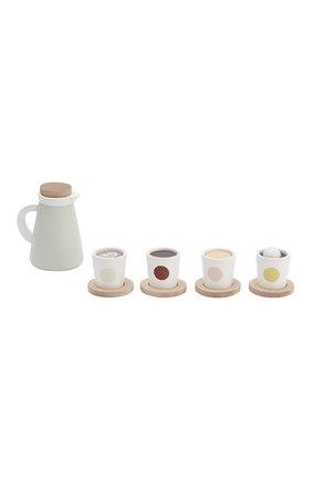 Детского игрушечный чайный набор KID`S CONCEPT белого цвета, арт. 1000270 | Фото 1