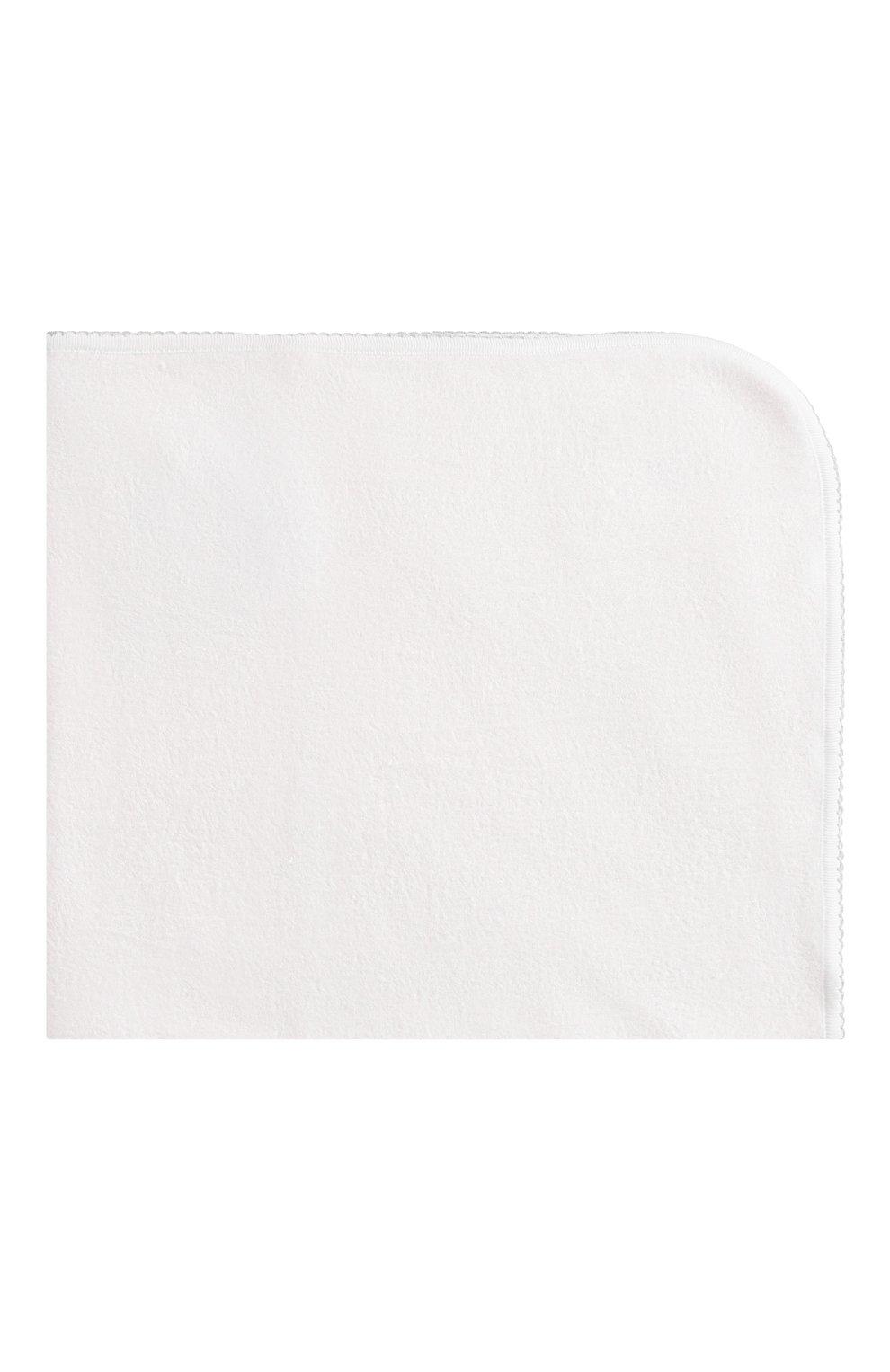 Детского комплект из полотенца и рукавицы KISSY KISSY серого цвета, арт. 48609 | Фото 3 (Материал: Текстиль, Хлопок)