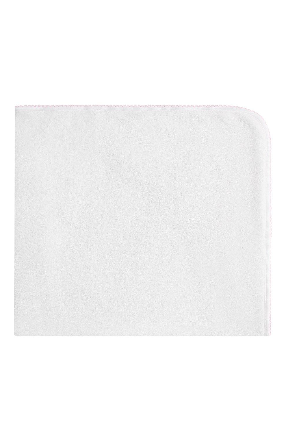 Детского комплект из полотенца и рукавицы KISSY KISSY розового цвета, арт. 48609 | Фото 3 (Материал: Текстиль, Хлопок)