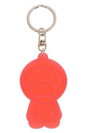 Мужской резиновый брелок BAPE оранжевого цвета, арт. 1G20182090 | Фото 2