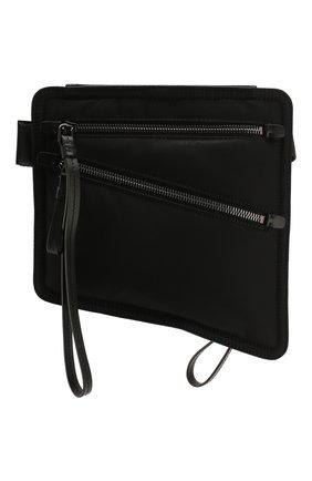 Мужская текстильная поясная сумка MONCLER черного цвета, арт. F1-09A-5M600-00-02SC6 | Фото 1